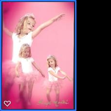 Ballerina in preschool